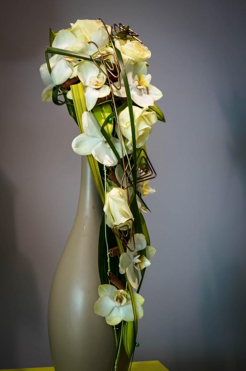 Projects archive page 5 sur 5 brigand fleurs for Bouquet de fleurs vert et blanc